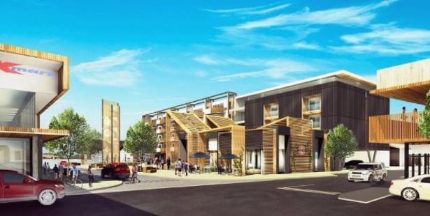 An artist's impression of Queenstown Central's $100 million development in Frankton.