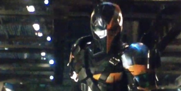 Deathstroke could be the next villain about to face off with Batman. Photo/Twitter