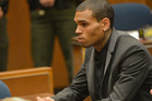 Recording artist Chris Brown during is court appearance on July 15, 2013. Photo / Getty Images