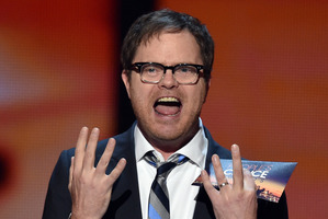 Actor Rainn Wilson is in New Zealand to shoot the film, Meg. Photo / Getty Images
