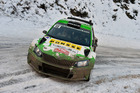Esapekka Lappi drives the Skoda Fabia R5 during the WRC Monte Carlo. Photo / Getty Images