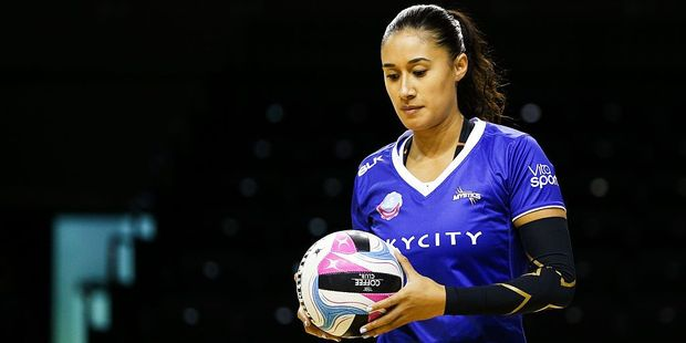 Maria Tutaia has re-signed with the Mystics. Photo / Getty