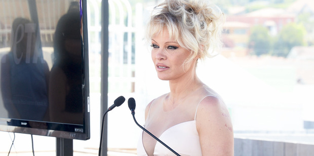 Pamela Anderson has remarked that porn was for losers. Photo / Getty Images