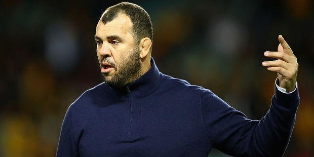Loading Wallabies coach Michael Cheika. Photo / Getty