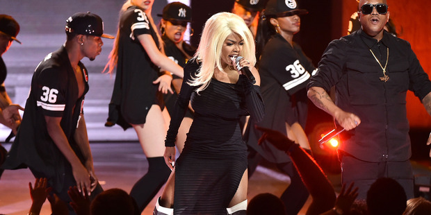 Teyana Taylor performs onstage during the VH1 Hip Hop Honors, July 11, 2016 in New York City. Photo / Getty