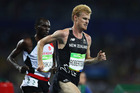 Zane Robertson competes during the Men's 10,000m at the Rio Olympics. Photo / Getty Images