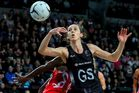 Bailey Mes of New Zealand in action against England. Photo / Getty