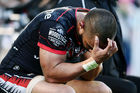 Thomas Leuluai of the Warriors reacts after losing to the Tigers. Photo / Getty