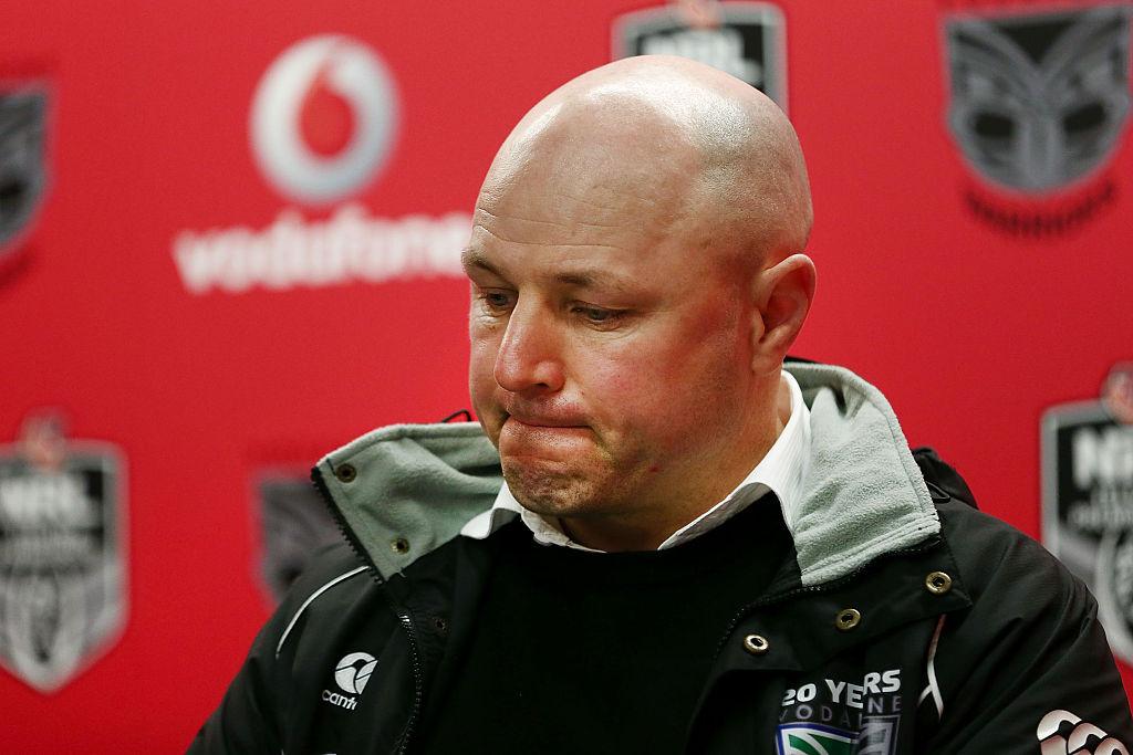 Warriors coach Andrew McFadden. Photo / Getty