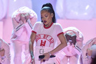 Rihanna opens the MTV Video Music Awards with a routine choreographed by Parris Goebel. Photo/Getty