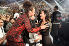 Alicia Keys and Kim Kardashian at the MTV Video Music Awards. Photo / Getty Images