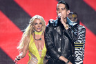 Britney Spears and G Eazy perform onstage during the 2016 MTV Video Music Awards. Photo / Getty Images