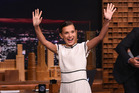 Millie Bobby Brown visits The Tonight Show Starring Jimmy Fallon. Photo / Getty