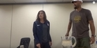 Watch: Watch: USA Women's goalkeeper Hope Solo's expletive-laden reaction to her suspension
