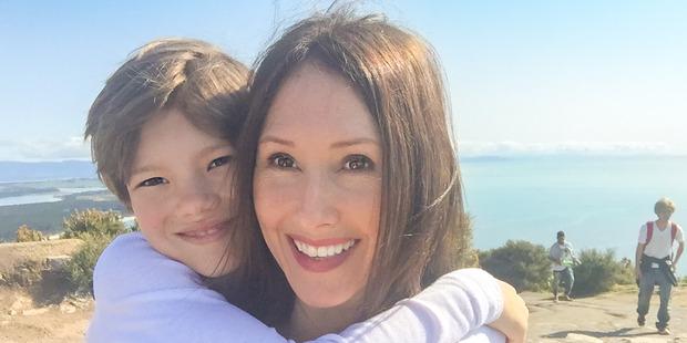 Michelle Cutelli and her son Sebastian, 9. PHOTO/MICHELLE CUTELLI