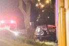 Serious crash in Napier