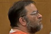 Jason Binkiewicz as his sentence was read out. Photo / YouTube / WTOV9 News