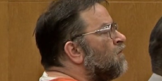 Loading Jason Binkiewicz as his sentence was read out. Photo / YouTube / WTOV9 News