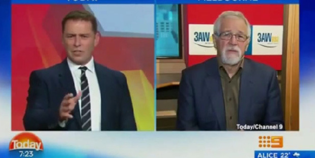Loading Karl Stefanovic was speaking to 3AW's Neil Mitchell at the time. Photo / Supplied