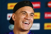 Sonny Bill Williams has hammered Australia coach Michael Cheika on Twitter, following the All Blacks' second succesive victory over the Wallabies last night in Wellington. Photo / Getty Images.