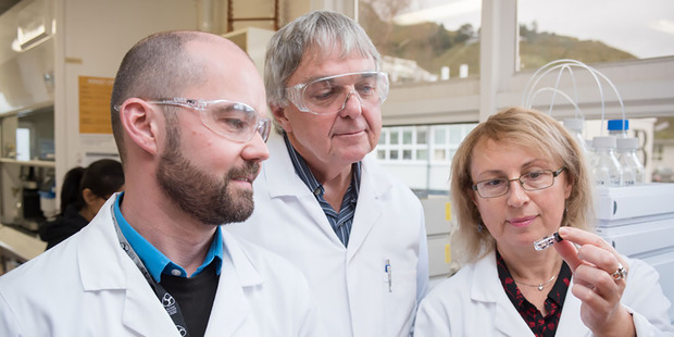 A team of researchers from Victoria University's Ferrier Research Institute are helping develop a new treatment for Alzheimer's disease. Photo / Supplied