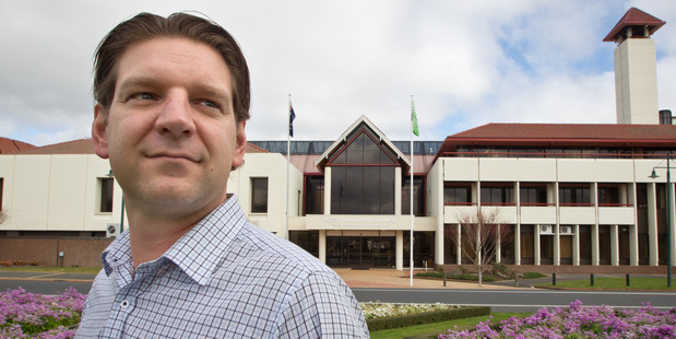 Loading Rotorua Lakes Council chief financial officer Thomas Colle talks about council debt.
