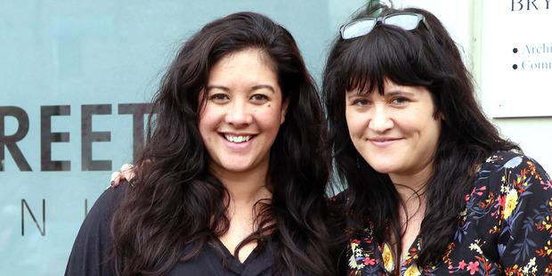 Amanda Gibbons and Kelly Scarrow from Mainstreet Whanganui. PHOTO/STUART MUNRO