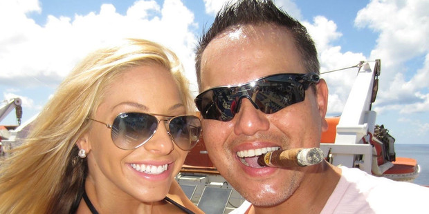 Krystin Lisaius and husband Somchai Lisaius were arrested on drug charges. Photo / Facebook
