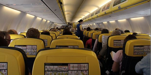 Sadly, there was no haggis or whisky aboard Max Bania's Ryanair flight to Glasgow. Photo / Creative Commons image by Flickr user Ben Salter
