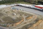 Aerial shot of the Tauranga Crossing development. Photo/Supplied