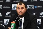 Australian coach Michael Cheika. Photo / Photosport