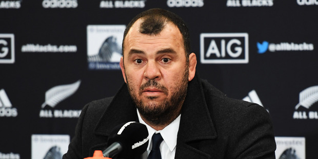 Australian coach Michael Cheika. Photo / www.Photosport.nz