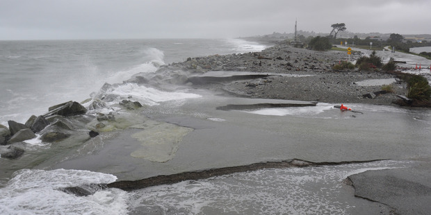 Hokitika rivermouth. Photo / Greymouth Star