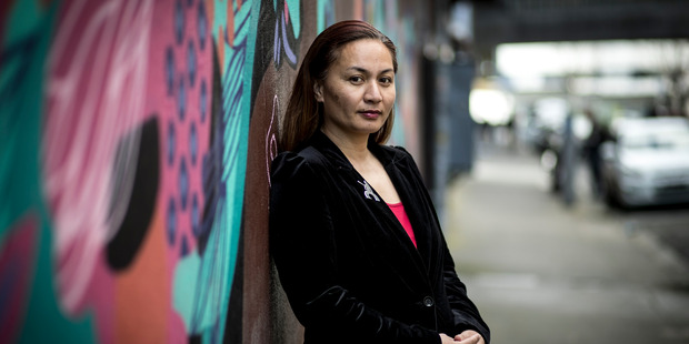 Marama Davidson says Parliament needs more mums as they're leaders and  grass-roots connected. Photo / Dean Purcell