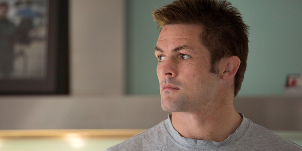 Richie McCaw in the documentary Chasing Great.