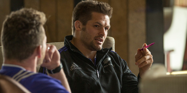 Richie McCaw in a scene from the documentary Chasing Great. Photo / Supplied