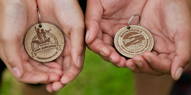 Children can get medals for taking part in the Toyota Kiwi Guardians programme.