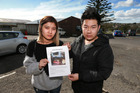 Chanidsara Supra-At Takul and Gritsaru Janshinorat who had their food truck stolen and are appealing for it to be returned. Photo / Doug Sherring