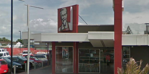 There was a number of calls to police shortly after 5pm today when a large group of students started fighting inside the Mangere East KFC on Massey Rd.