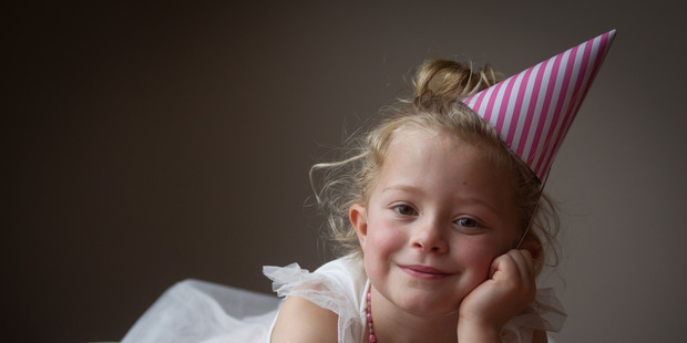 Madisyn Majurey is foregoing a birthday party to instead help Valenica. PHOTO/STEPHEN PARKER