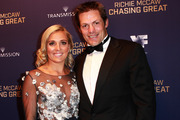 Richie McCaw and Gemma Flynn at the Chasing Great Film Premiere. Photo / Norrie Montgomery
