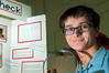 CLEAN SWEEP: Year 9 student James Zingel cleaned-up at the Bay of Plenty Science Fair, held in Rotorua last week, with his invention the 'Gran Check' monitor.  PHOTO/BEN FRASER