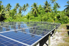 Almost all Tuvaluans have electricity and Tuvalu is on course to generate all its power from renewable sources by 2025.