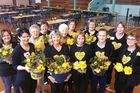 The  women of the Stratford Daffodil Day Committee say they are grateful to the many volunteers who have helped this year.