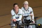 Para-cyclists Laura Thompson (left) and Dargaville's Emma Foy will be gunning for gold at the  Paralympics. Photo / Getty Images