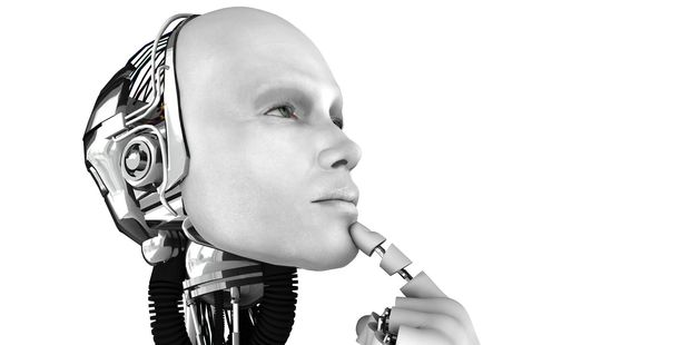 A male robot is thinking about something. Photo / 123RF