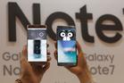 Samsung Galaxy Note 7. Photo / AP
