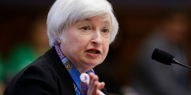 "Federal Reserve chair Janet Yellen says additional tools remain ""subjects for research"" and are not being actively considered. Photo / AP"