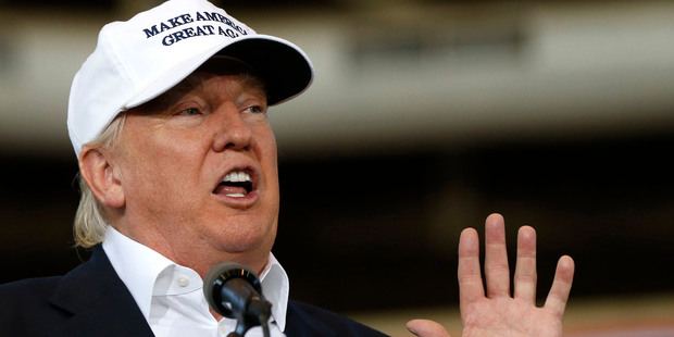 Donald Trump's recent lab tests were 'astonishingly excellent' read the letter. Photo / AP