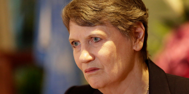 """Helen Clark received six """"encourage"""" votes, eight """"discourage"""" and one """"no opinion"""". Photo / AP"""
